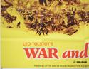 WAR AND PEACE (Bottom Left) Cinema Quad Movie Poster