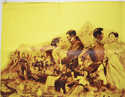 WAR AND PEACE (Top Left) Cinema Quad Movie Poster