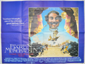 THE ADVENTURES OF BARON MUNCHAUSEN Cinema Quad Movie Poster