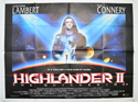 HIGHLANDER II : THE QUICKENING Cinema Quad Movie Poster