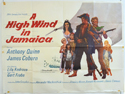 A HIGH WIND IN JAMAICA Cinema Quad Movie Poster
