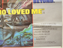 007 : THE SPY WHO LOVED ME (Bottom Right) Cinema Quad Movie Poster