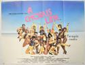 A CHORUS LINE Cinema Quad Movie Poster