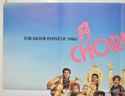 A CHORUS LINE (Top Left) Cinema Quad Movie Poster