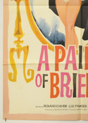 A PAIR OF BRIEFS (Bottom Left) Cinema One Sheet Movie Poster