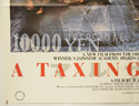 A TAXING WOMAN (Bottom Left) Cinema Quad Movie Poster