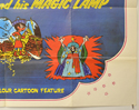 ALADDIN AND HIS MAGIC LAMP (Bottom Right) Cinema Quad Movie Poster