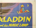 ALADDIN AND HIS MAGIC LAMP (Top Right) Cinema Quad Movie Poster