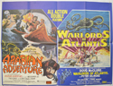 ARABIAN ADVENTURE / WARLORDS OF ATLANTIS Cinema Quad Movie Poster