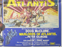 ARABIAN ADVENTURE / WARLORDS OF ATLANTIS (Bottom Right) Cinema Quad Movie Poster