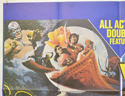 ARABIAN ADVENTURE / WARLORDS OF ATLANTIS (Top Left) Cinema Quad Movie Poster