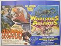 ARABIAN ADVENTURE / WARLORDS OF ATLANTIS Cinema Quad Movie Poster
