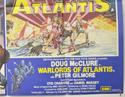 ARABIAN ADVENTURE / WARLORDS OF ATLANTIS (Bottom Right) Cinema Quad Movie Poster