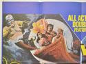 ARABIAN ADVENTURE / WARLORDS OF ATLANTIS (Top Left) Cinema Quad Movie Poster