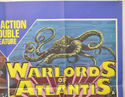 ARABIAN ADVENTURE / WARLORDS OF ATLANTIS (Top Right) Cinema Quad Movie Poster