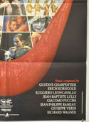ARIA (Bottom Right) Cinema One Sheet Movie Poster