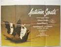 AUTUMN SONATA Cinema Quad Movie Poster