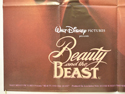 BEAUTY AND THE BEAST (Bottom Left) Cinema Quad Movie Poster