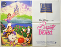 BEAUTY AND THE BEAST Cinema Quad Movie Poster