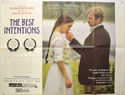 THE BEST INTENTIONS Cinema Quad Movie Poster