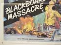 BLACKBOARD MASSACRE / CIRCLE OF FEAR (Bottom Left) Cinema Quad Movie Poster