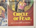 BLACKBOARD MASSACRE / CIRCLE OF FEAR (Bottom Right) Cinema Quad Movie Poster