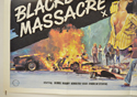 BLACKBOARD MASSACRE / CIRCLE OF FEAR (Bottom Left) Cinema Quad Movie Poster