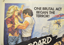 BLACKBOARD MASSACRE / CIRCLE OF FEAR (Top Left) Cinema Quad Movie Poster