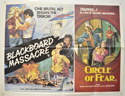 BLACKBOARD MASSACRE / CIRCLE OF FEAR Cinema Quad Movie Poster
