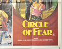 BLACKBOARD MASSACRE / CIRCLE OF FEAR (Bottom Right) Cinema Quad Movie Poster