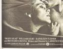 BODY HEAT (Bottom Left) Cinema Quad Movie Poster