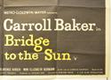 BRIDGE TO THE SUN (Bottom Right) Cinema Quad Movie Poster