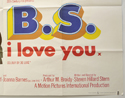 B.S. I LOVE YOU (Bottom Right) Cinema Quad Movie Poster