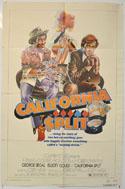 CALIFORNIA SPLIT Cinema One Sheet Movie Poster