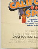 CALIFORNIA SPLIT (Bottom Left) Cinema One Sheet Movie Poster