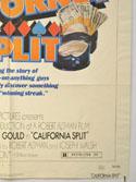 CALIFORNIA SPLIT (Bottom Right) Cinema One Sheet Movie Poster