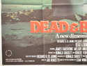 DEAD AND BURIED (Bottom Left) Cinema Quad Movie Poster