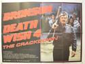 DEATH WISH 4 Cinema Quad Movie Poster
