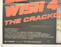 DEATH WISH 4 (Bottom Left) Cinema Quad Movie Poster