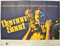DEMON SEED Cinema Quad Movie Poster