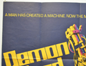 DEMON SEED (Top Left) Cinema Quad Movie Poster
