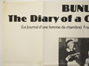 THE DIARY OF A CHAMBERMAID (Top Left) Cinema Quad Movie Poster