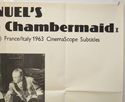 THE DIARY OF A CHAMBERMAID (Top Right) Cinema Quad Movie Poster