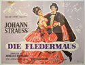 DIE FLEDERMAUS Cinema Quad Movie Poster