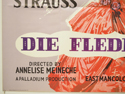 DIE FLEDERMAUS (Bottom Left) Cinema Quad Movie Poster