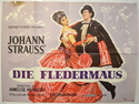 DIE FLEDERMAUS Cinema Quad Movie Poster