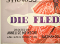 DIE FLEDERMAUS (Bottom Left) Cinema Quad Movie Poster