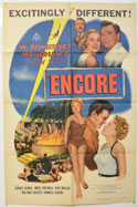 ENCORE Cinema One Sheet Movie Poster