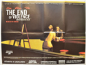 THE END OF VIOLENCE Cinema Quad Movie Poster