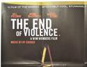 THE END OF VIOLENCE (Top Left) Cinema Quad Movie Poster